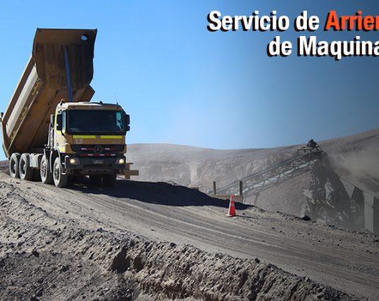 Arriendo Maquinaria en Región de Antofagasta
