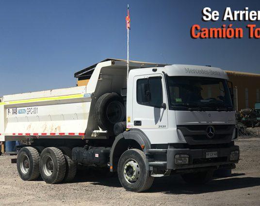 Camión Tolva 15 m3