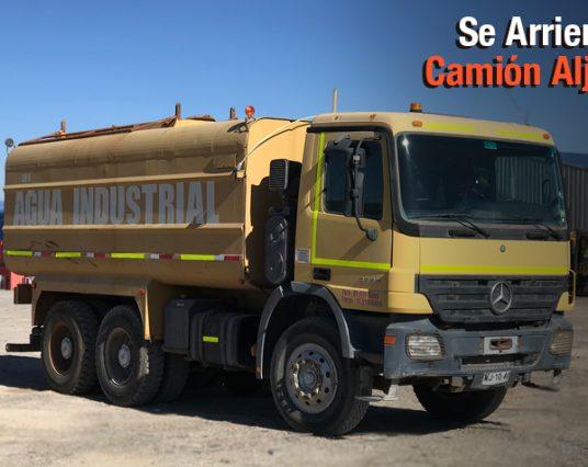 Camion Aljibe – Agua Industrial