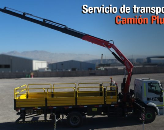 Transporte Camión Pluma