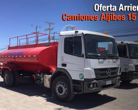 Oferta Camiones Aljibes