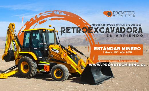 ARRIENDO RETROEXCAVADORA